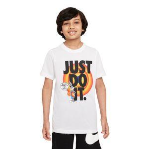 Camiseta-Nike-x-Space-Jam-Dri-FIT-JDI-Infantil-Branca
