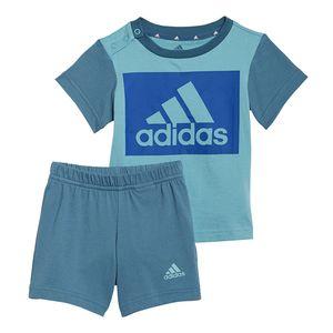Conjunto-adidas-Essentials-Infantil-Verde