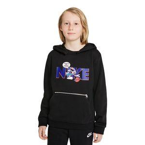 Blusa-Nike-x-Space-Jam-Dri-FIT-Standard-Issue-HD-Infantil-Preta