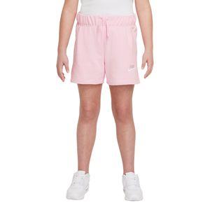 Shorts-Nike-Club-Infantil-Rosa