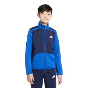 Agasalho-Nike-Futura-Poly-Cuff-Infantil-Azul