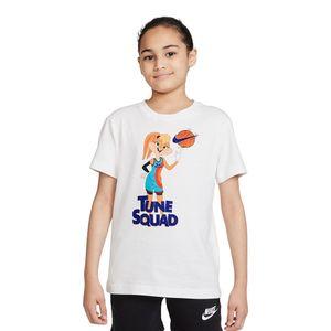 Camiseta-Nike-x-Space-Jam-Infantil-Branca