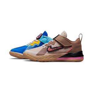 Tenis-Nike-Lebron-XVIII-Low-X-Space-Jam-PS-Infantil-Multicolor