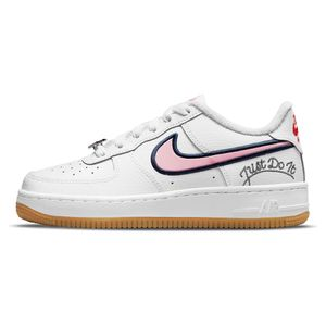 Tenis-Nike-Air-Force-1-Lv8-GS-Infantil-Branco