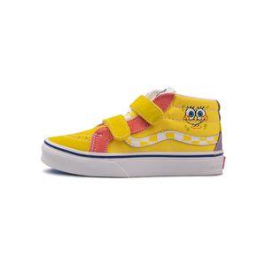 Tenis-Vans-Sk8-mid-Reissue-Velcro-TD-Infantil-Amarelo