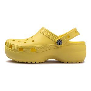 Sandalia-Crocs-Classic-Platform-Feminina-Amarelo