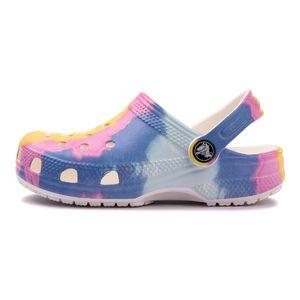 Sandalia-Crocs-Classic-Tie-Dye-Ps-Gs-Infantil-Multicolor