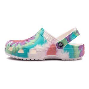 Sandalia-Crocs-Classic-Tie-Dye-Gs-Infantil-Multicolor