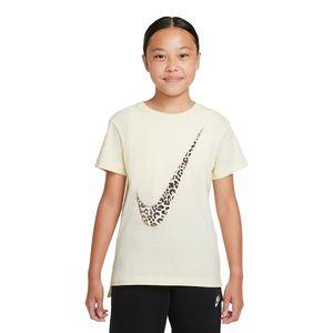 Camiseta-Nike-Asbury-Infantil-Bege